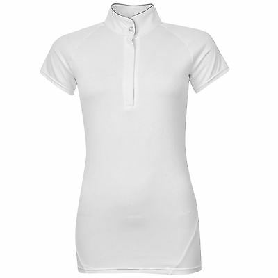 Horseware Womens Sara Short Sleeve Top Ladies Competition T Shirt Tee