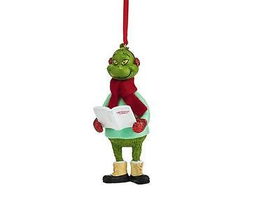 "Department 56 Grinch Grinchmas Carols Ornament, 4"" 4052414"