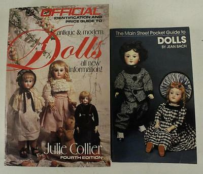 Vintage PB Book Lot Antique Modern DOLL Collecting Books Price & Pocket Guide