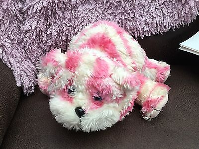 Rare 1999 Bagpuss Cat Talking Yawning Soft Toy 13 inch long head to tail