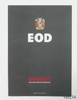ROF Chorley Promotional Fold-Out- EOD-Explosive Ordnance Disposal-1990's