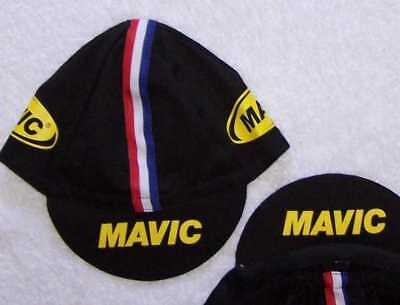 Mavic Classic Team Cycling Cap New Hat Black, Yellow, Or Both ***