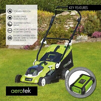 Aerotek 40V Cordless Electric Lawnmower  ACCESSORIES ONLY