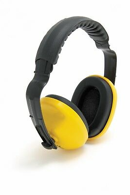 1x Pair of Blackrock 25dB Ear Defenders Noise Protection Comfort Headband Yellow