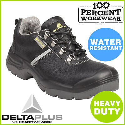 503de17370d DELTA PLUS PANOPLY Sault S3 ESD Black Leather Safety Boots Steel Toe ...