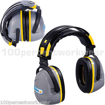 Delta Plus Venitex YAS MARINA Foldable Ear Defenders Muffs SNR 32 dB Cushion New