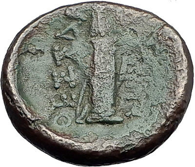 Thessalonica in Macedonia 148BC Ancient Greek Coin ARTEMIS w BOW & QUIVER i61871