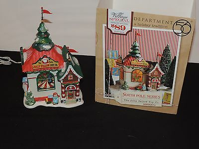 Department 56 DEPT 56 NORTH POLE VILLAGE THE JOLLY FELLOW TOY CO