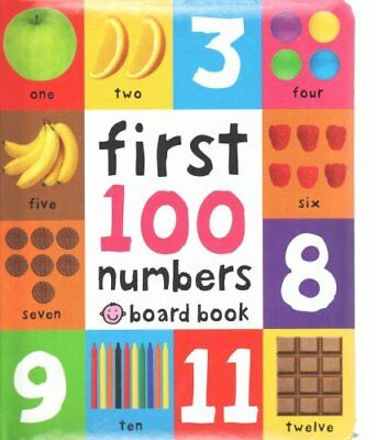 First 100 Numbers by Roger Priddy 9781849158916 (Board book, 2013)