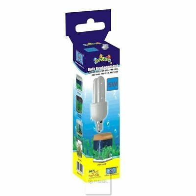 Fish R Fun 5 Watt Replacement Light Bulb FRF-5W for Den Aquariums Fish Tanks