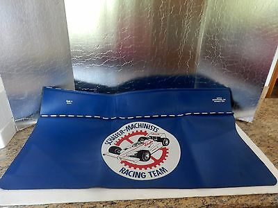 Vintage Indy 500 Schaefer Machinists Racing Team Fender Cover