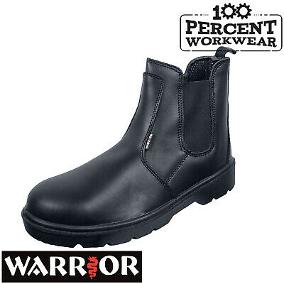Pro Trade Mechanics Farmers Builders Drivers Slip On Dealer Work Safety Boots