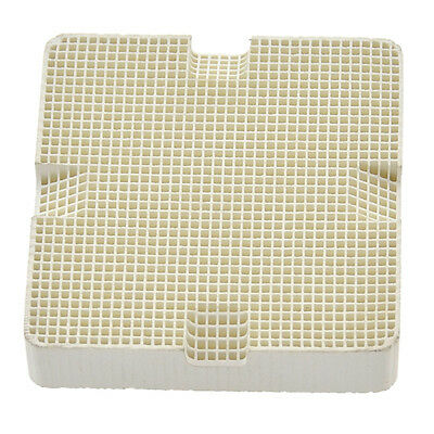 Ceramic Solder Board Honeycomb Four Square Hole Heating Paint Printing Drying