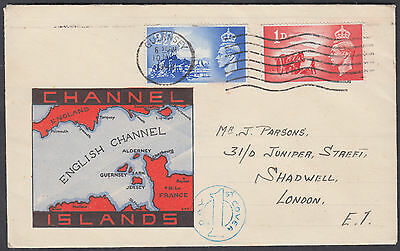 1948 Channel Islands Liberation Illustrated FDC; Guernsey M/C