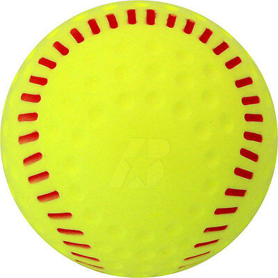 Baden PSBRSY 12 Inch Yellow Dimpled Pitching Machine Ball 1 Dozen PSBRSY