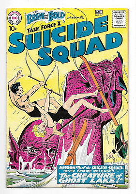 Brave and the Bold #27 VF 8.0 3rd Appearance of Suicide Squad