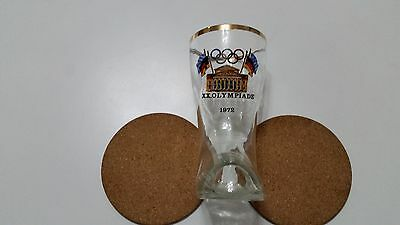 Olympiade Munchen 1972 boot shaped glass