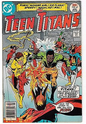 TEEN TITANS #47 (VF-) JOKER'S Daughter Joins Team! Kid Flash! Robin!
