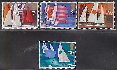 Great Britain Scott # 745-8 Mint Never Hinged - Sailing Dinghies