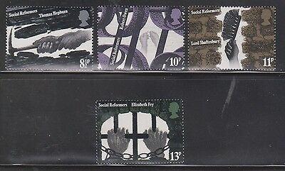 Great Britain Scott # 781-4 Mint Never Hinged - Workers Hands