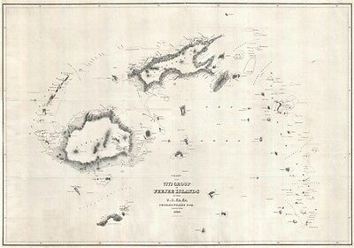 1840 Wilkes Map of the Fiji Islands