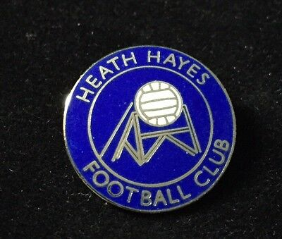 Heath Hayes Football Club Metal Pin Badge Excellent Condition