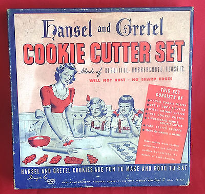 HRM Hansel and Gretel COOKIE CUTTER SET *Cutters Are New in MINT Condition!*