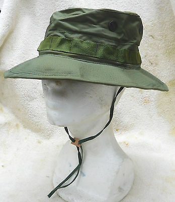 GENUINE U.S. Vietnam O.D. Boonie Hat (New in the Bag)