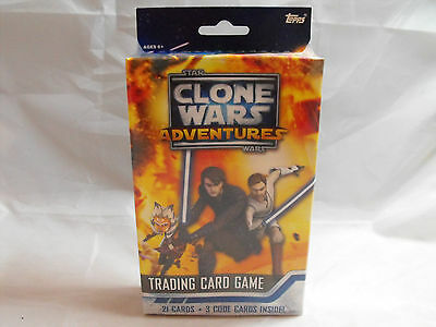 Star Wars Clone Wars Adventures Tcg Sealed Starter Deck