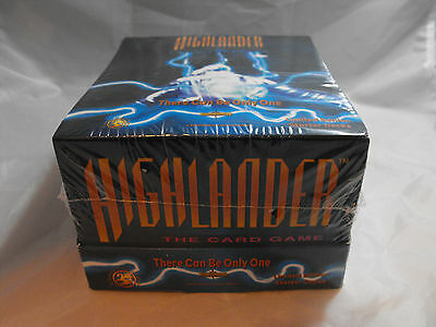 Highlander Ccg Tcg Sealed Box Of 12 Starter Decks