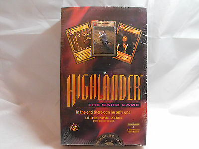 Highlander Ccg Tcg The Watcher Chronicles Sealed Booster Box