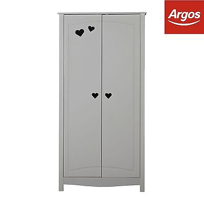 Collection Mia 2 Door Wardrobe - White. From the Official Argos Shop on ebay