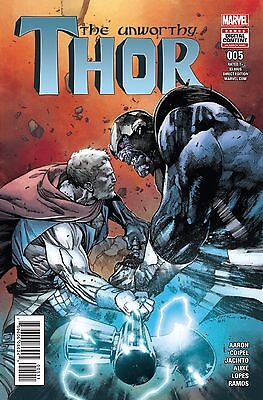 UNWORTHY THOR #5, New, First print, Marvel Comics (2016)