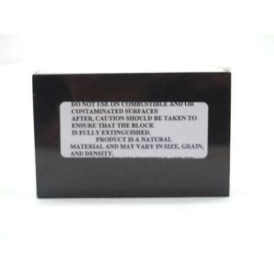 """Charcoal Soldering Block 4 3/4"""" x 3"""" x 1 1/2"""" Individually Boxed"""
