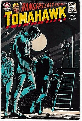 TOMAHAWK #117 (VG/FN) Classic Neal Adams Cover! DC Western Silver-Age Comic 1968
