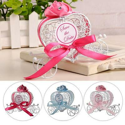 1pc Sweet Carriage Candy Chocolate Boxes Birthday Party Wedding Favours Romantic