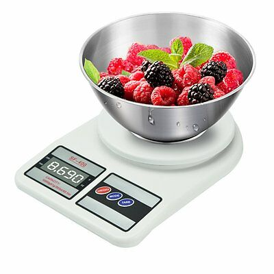 10KG/1g  Kitchen Food Scale Digital Electronic Weight Homeware Cooking Chief