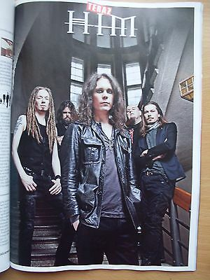 HIM / VILLE VALO - 10 pages in Polish Magazine / Very Rare!