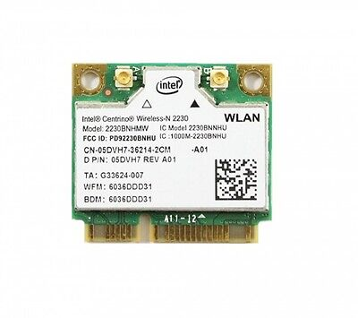 DELL Intel Centrino Wireless-N 2230 WiFi Bluetooth Card 2230BNHMW 5DVH7