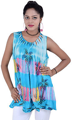 Indiantrend Pack of 10 Casual Sleeveless Beach Evening Summer Tops