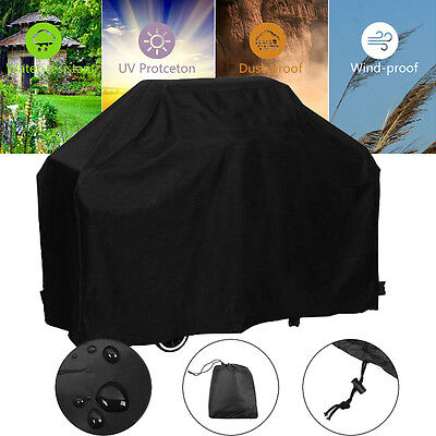 BBQ Cover 4 Burner Waterproof Outdoor UV Gas Charcoal Barbecue Grill Protector