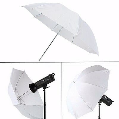 43'' Photography Video Studio Lighting Translucent Flash Soft Umbrella