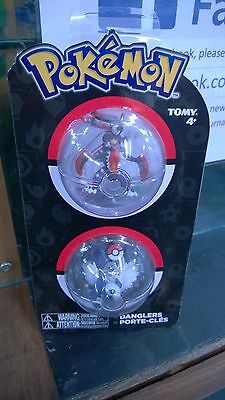 Pokemon Tomy Danglers Mega Garchompt & Absol Figures Official Tomy Product