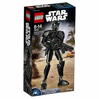 """NEW LEGO Star Wars 75121 """"Imperial Death Trooper"""" Constraction Figure Set"""