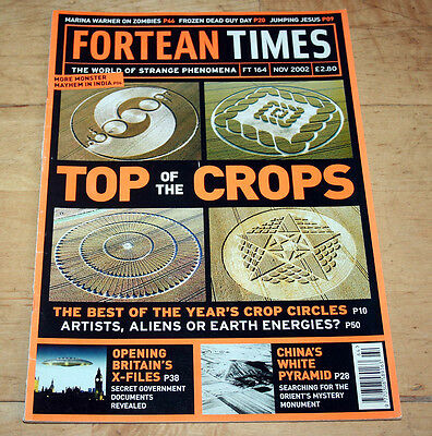 Fortean Times 164 (November 2002) - British X Files, Crop Circles