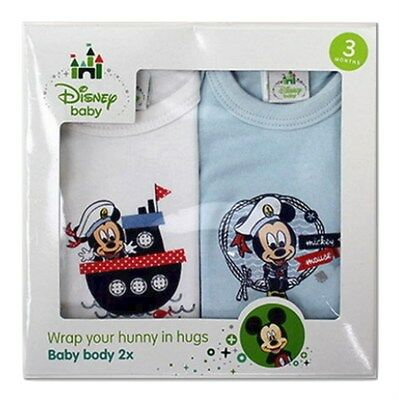 DISNEY BABY 2 PACK OF BABY VESTS - New