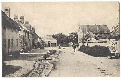 WOOL Dorset, View in the Village by H&S, Old Postcard Unused
