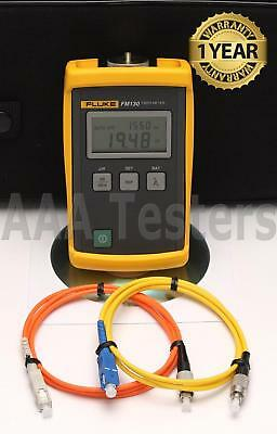 Fluke FM130 SM MM Fiber Optic Power Meter FM-130 FM 130