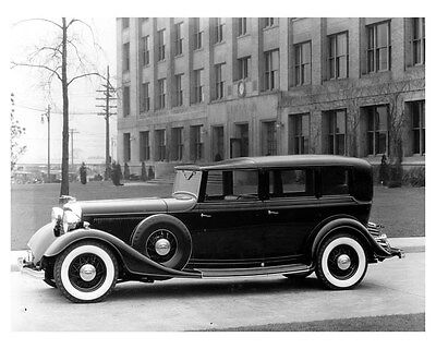 1933 Lincoln Willoughby Factory Photo uc6584