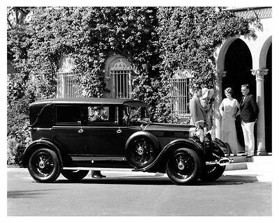 1930 Lincoln Factory Photo uc6550